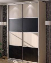 Шкаф-купе с комбинированными дверями любой сложности